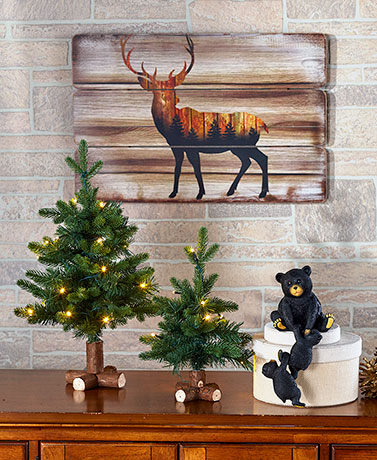 Ordinaire Winter Woodland Home Decor