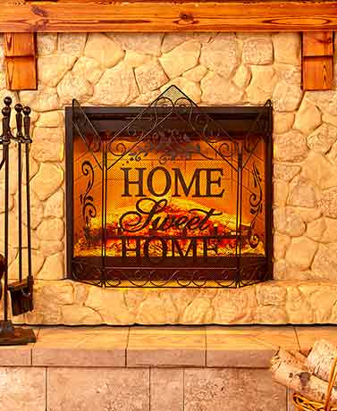 for fireplace decorative plan home every gorgeous screens