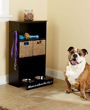 All-in-One Storage Centers for Dogs