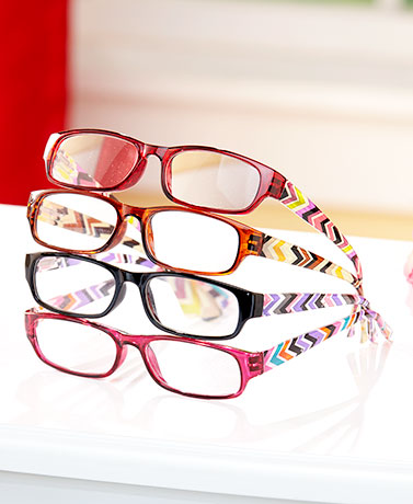Sets of 4 Fashion Reading Glasses