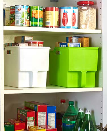 Oversized Pantry Bin with Handle