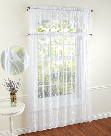 Songbird Lace Curtain Collection