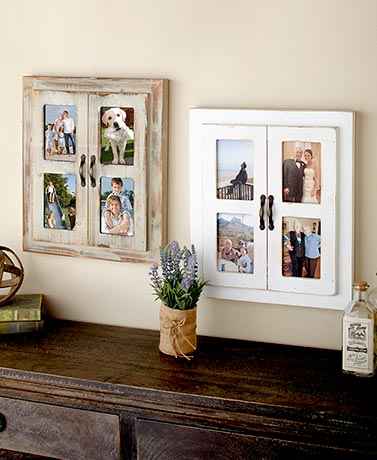 Rustic Window Collage Frames
