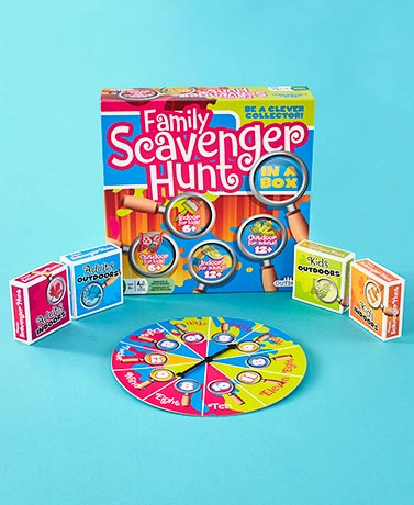 IndoorOutdoor Scavenger Hunt Games