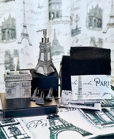 Vintage Paris Bath Collection