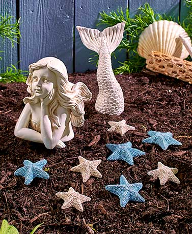 Coastal Garden Decor