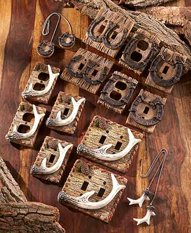 Woodland or Western Decorative Hardware