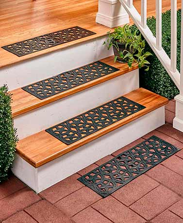 Sets of 4 Rubber Stair Treads