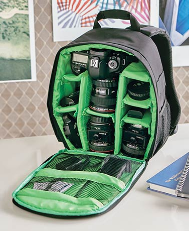 Multipurpose Padded Camera Backpack