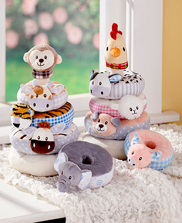 Baby Build-It Plush Stackers