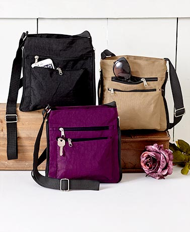Lightweight Expandable Crossbody Bags