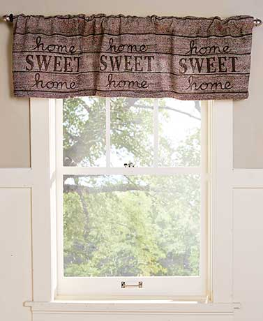 Home Sweet Home Collection - Valance