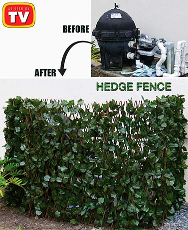 Hedge Fence™ Expandable Privacy Fence