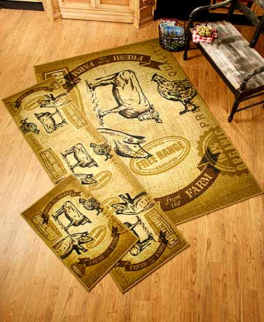 Farm Fresh Rug Collection