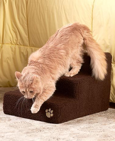 Sherpa Foam Pet Steps