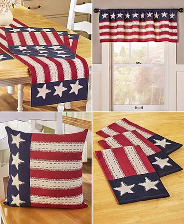 Star Spangled Americana Home Decor