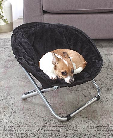 Foldable Furry Pet Beds