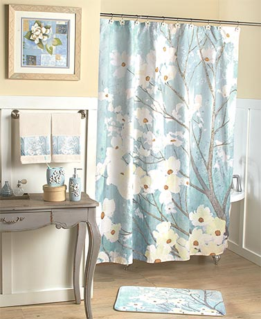 Dogwood Blossoms Bathroom Collection