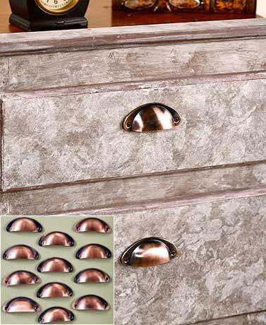 Sets of 12 Vintage-Style Drawer Pulls