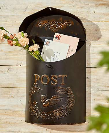 Decorative Metal Postboxes