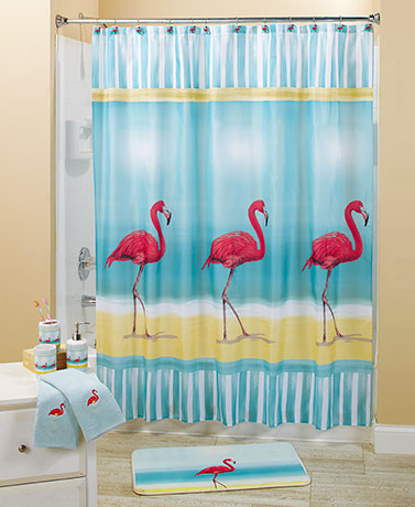 Flamingo Paradise Bath Collection