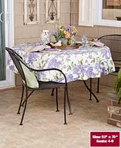 Easy Care Tablecloths