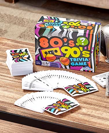 80's 90's Trivia or Movies Trivia Game