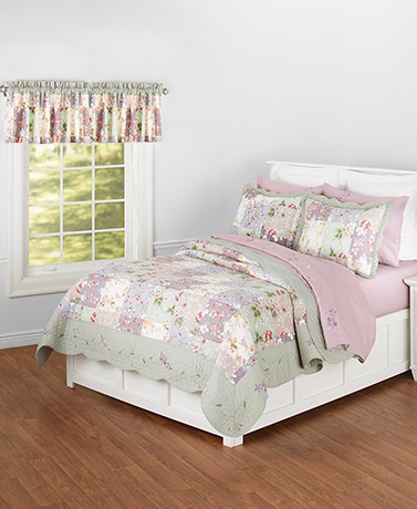 Constance Embroidered Quilt Collection