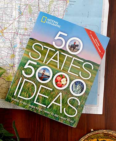 50 States 5000 Ideas Book
