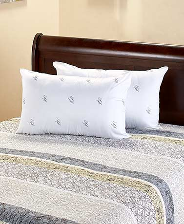 2 pk choose your density bed pillows ltd commodities for Choosing pillows for bed