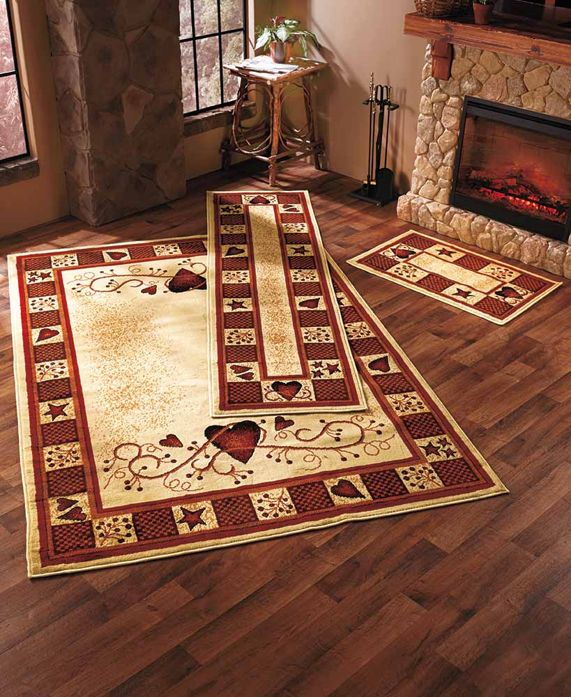 Hearts And Berries Rug Collection Ltd