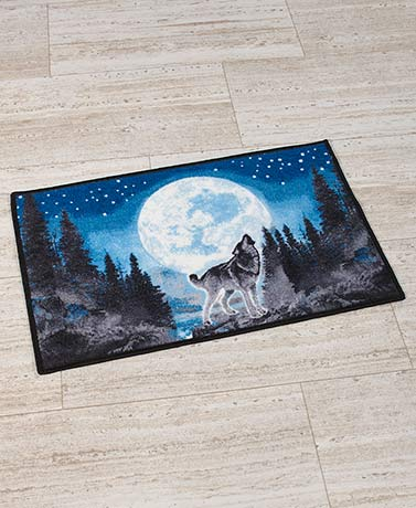 Wolf Pack Bathroom Rug