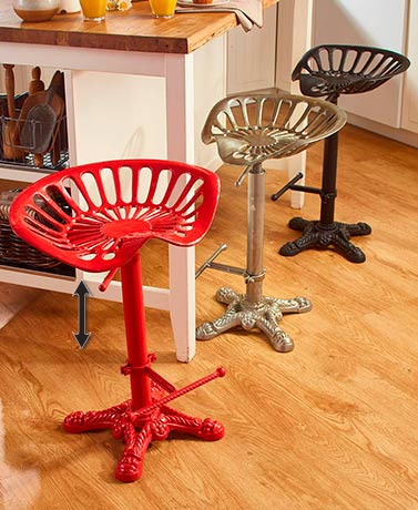 Adjustable Tractor Seat Stools