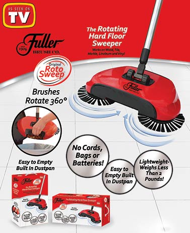Fuller Brush Co.® Original Roto Sweep™