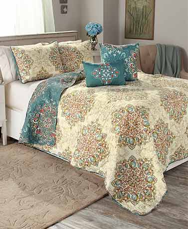 Tranquility 5-Pc. Quilt Sets