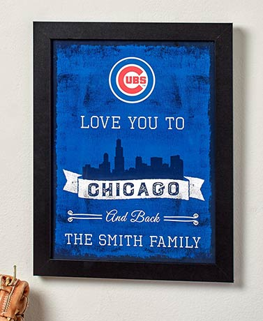 Personalized MLB™ Town Love Prints