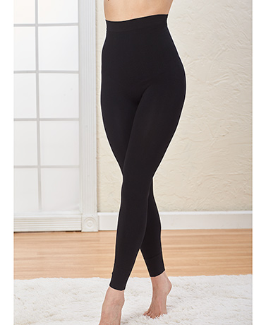 Seamless High-Waisted Body-Shaping Leggings