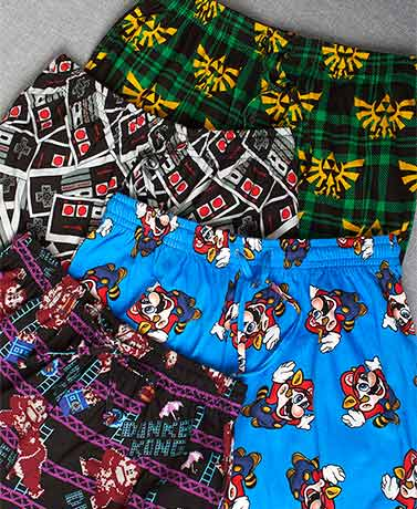 Classic Video Game Lounge Pants