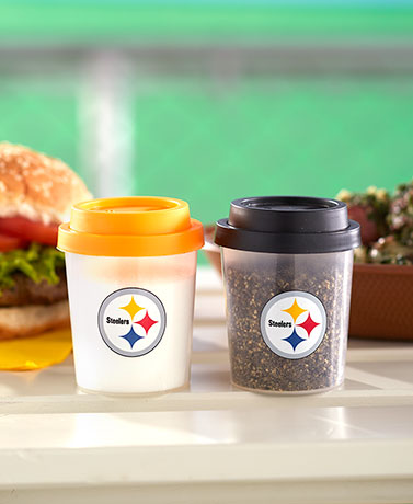 NFL Tailgate Salt and Pepper Shakers