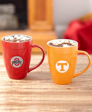 Collegiate Sweater Mugs