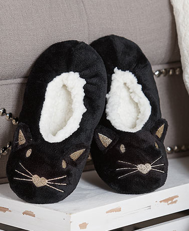 Fuzzy Babba™  Women's Cat Critter Slippers