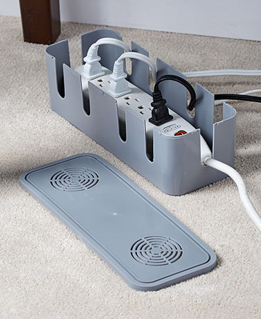 Set of 2 Power Strip Safety Covers