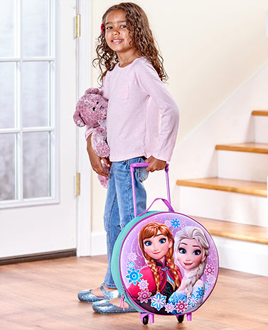 Disney Kids' Molded Rolling Luggage