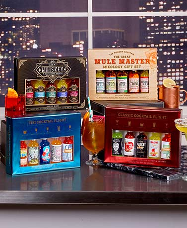 5-Pc. Cocktail Mixer Gift Sets
