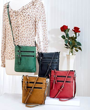 Harlow Soft-Feel Crossbody Bags