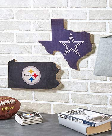 NFL State Pride Wall Decor