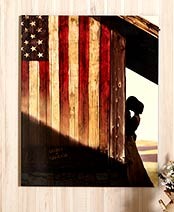 Personalized American Pride Wall Art