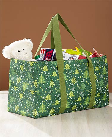 Holiday Multifunctional Utility Totes - Tree