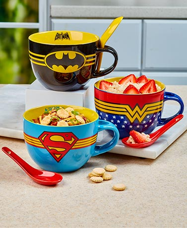 Licensed 24-oz. Soup Bowl & Spoon Sets