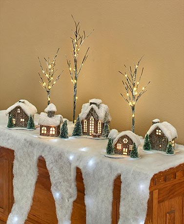 Lighted Houses or Accessories